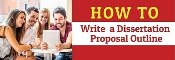 How to write an outline for dissertation proposal