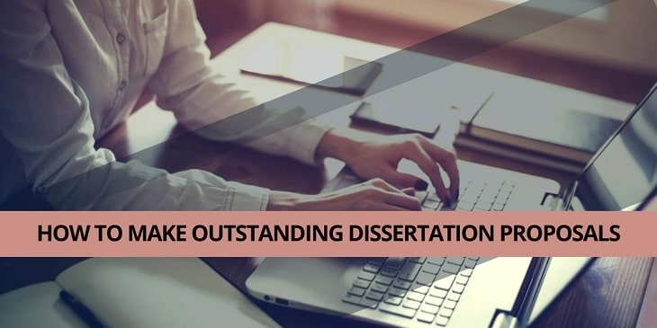 How to make outstanding dissertation proposals