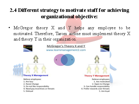 Strategies to motivate staff