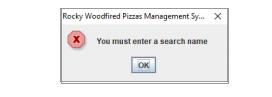 Enter search name