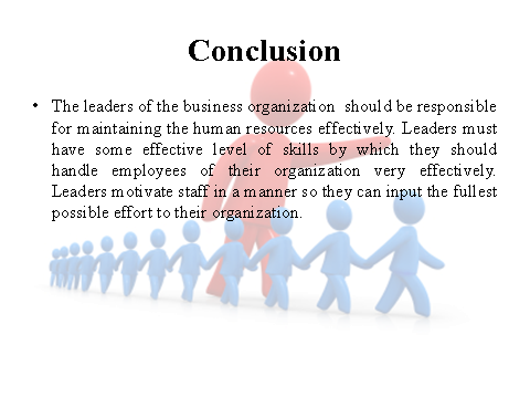 Conclusion on Leadership