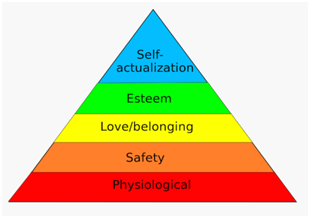Categories of Maslow's Hierarchy