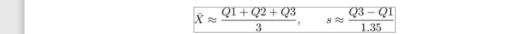 Sample Standard Deviation of Height formulae
