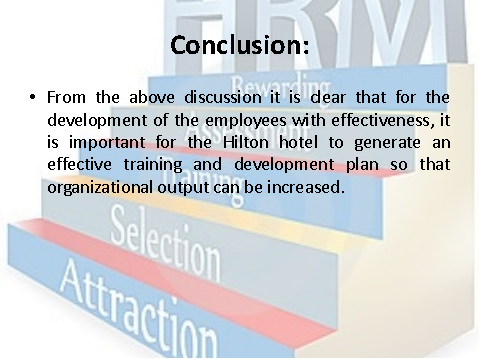 conclusion on training