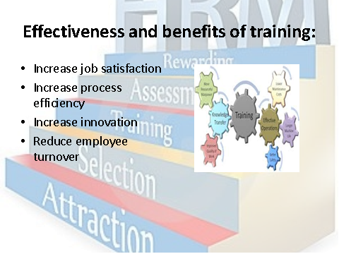 Effectiveness and benefits of training